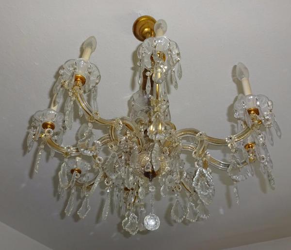 antik maria theresia kristalll ster lampe l ster leuchter um 1909 in m nchen lampen kaufen und. Black Bedroom Furniture Sets. Home Design Ideas
