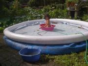 aufblasbares Schwimmbecken Planschbecken d 4m