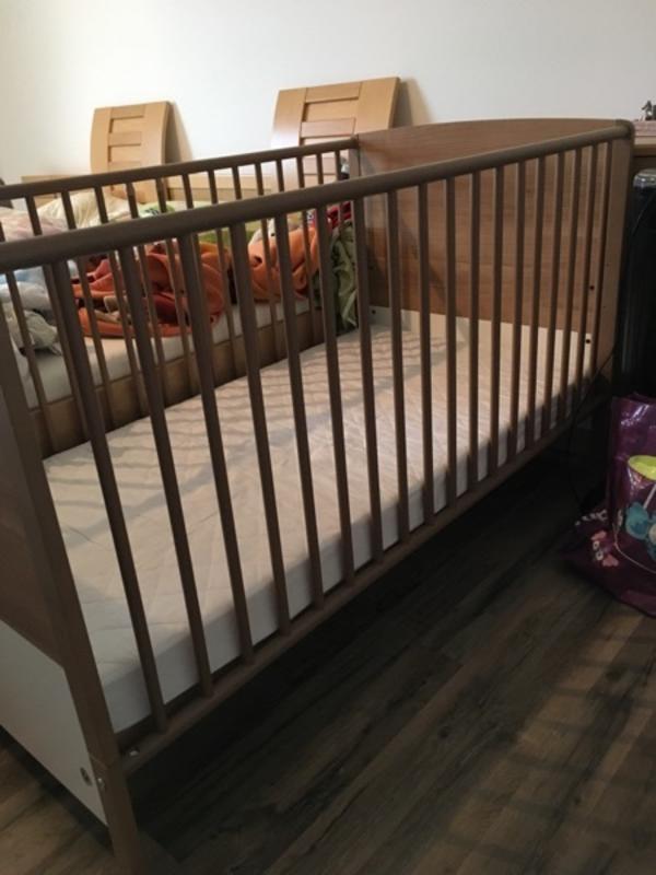 baby bett bis 4 jahre in hard wiegen babybetten reisebetten kaufen und verkaufen ber. Black Bedroom Furniture Sets. Home Design Ideas