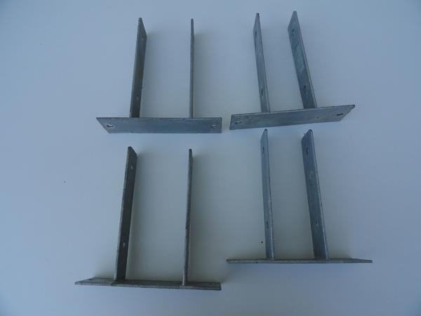 Balkenschuhe ; Pfostenverbinder, Zaunbefestigung » Sonstiges Material für den Hausbau
