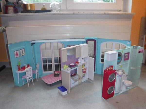 barbie haus zubeh r gebraucht kaufen nur 3 st bis 75 g nstiger. Black Bedroom Furniture Sets. Home Design Ideas