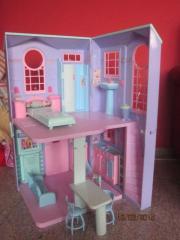 barbie haus in landau kinder baby spielzeug g nstige angebote finden. Black Bedroom Furniture Sets. Home Design Ideas