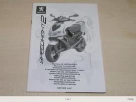 Sonstige Motorroller - Bedienungsanleitung Peugeot Speedfight 2