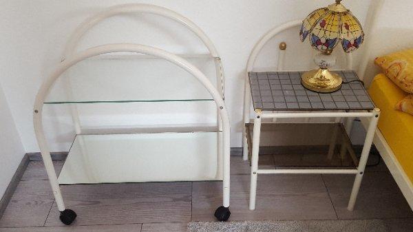kleiner glastisch gebraucht kaufen nur 2 st bis 60. Black Bedroom Furniture Sets. Home Design Ideas