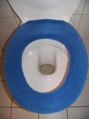 Bezug für WC-