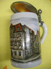 Bierkrug Tannenbaum