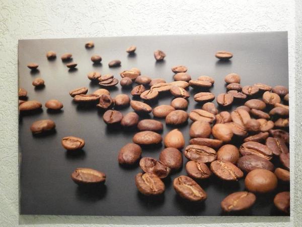 Bild auf Leinwand Kaffeebohnen 118
