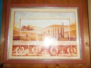 Bild mit Holzrahmen 44x34cm