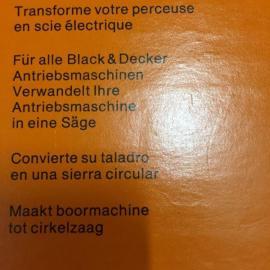 Black und Decker Kreissäge - Aufsatz: Kleinanzeigen aus Starnberg - Rubrik Werkzeuge, Zubehör