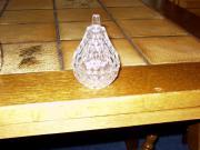 Bleikristall 2 tlg Dose Birnenform