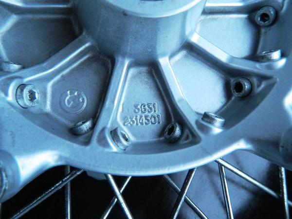 BMW R 1150 GS Vorderrad