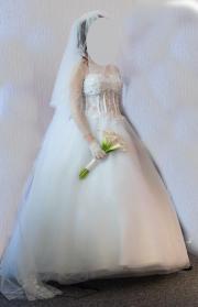Brautkleid, ein Trau