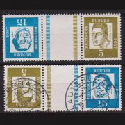 Briefmarken Bund Kehrdrucke aus Markenheftchenbogen
