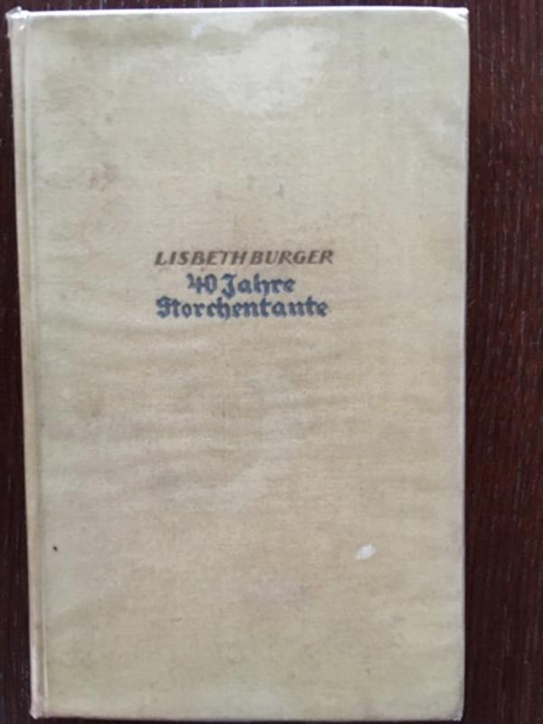 Buch 40 Jahre Storchentante