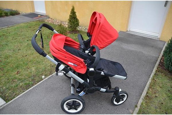 bugaboo donkey twin geschwister zwillingskinderwagen super zustand in k nigsbrunn kinderwagen. Black Bedroom Furniture Sets. Home Design Ideas