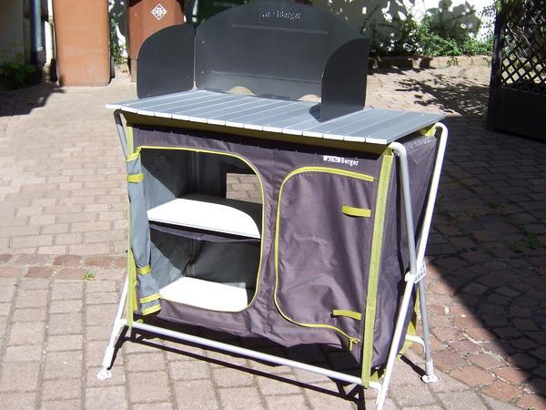 Camping Küchenschrank (Berger Küchenbox Pablo) - Dossenheim - Camping Küchenschrank (Berger Küchenbox Pablo) inklusive Tasche zu verkaufen. Nur zweimal benutzt, daher gut erhalten.Für Selbstabholer. - Dossenheim