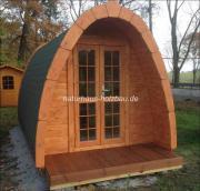 Campingpod, Campingfass, Sauna