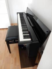 Casio Hochglanz inkl Klavierbank Digitalpiano