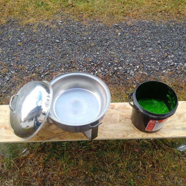 Chewing Dish inkl Brennpaste-Eimer günstig