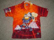 cooles Jungen-Hemd Gr 122 128