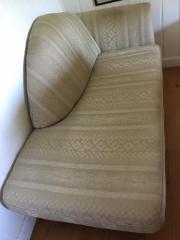 Couch aus Stoff