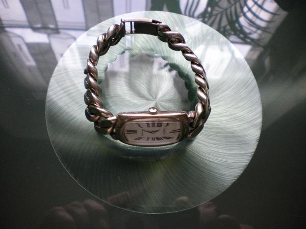 Damen Armbanduhr Silber 835