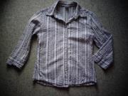 Damenbekleidung Bluse Seersucker 3 4