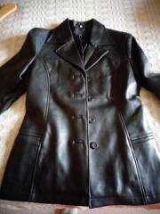 Damenbekleidung Jacke Lederjacke