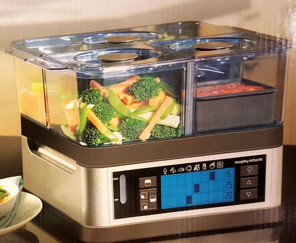 dampfgarer in h rbranz k chenherde grill mikrowelle. Black Bedroom Furniture Sets. Home Design Ideas