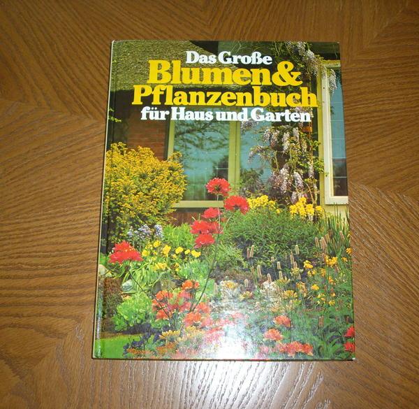 Das große Blumen Pflanzenbuch