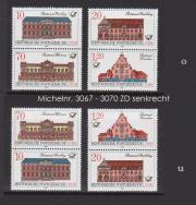DDR-Briefmarken-Zusammendrucke aus dem Jahr 1987