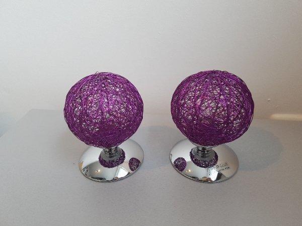 Deko kugel lila gebraucht kaufen nur 3 st bis 70 g nstiger - Fensterdeko zum hangen ...