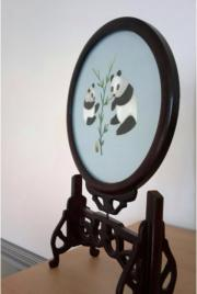 Die -Shu Stickerei- Panda