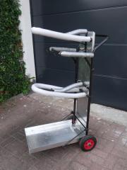 Doppelter Sattelwagen