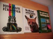 Drei Fachbücher Fotografie