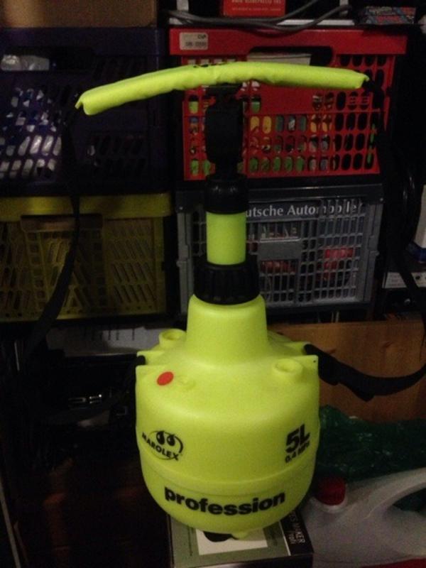 Drucksprüher MAROLEX Pumpe und 5