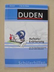 Duden-Schülerhilfe - Aufsatz Erörterung - Deutsch - 7
