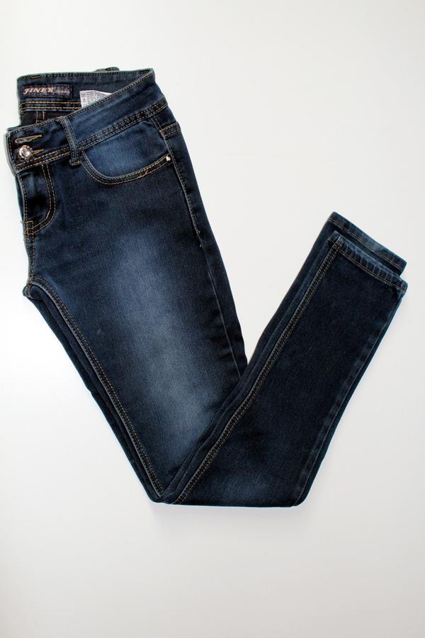 Dunkelblaue Skinny Jeans » Damenbekleidung