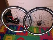 e-bike vorderrad
