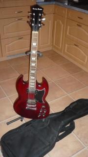 E-Gitarre zu