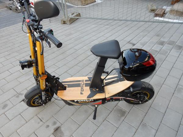 e scooter forca bossman s pro 1800w strassenzulassung mit. Black Bedroom Furniture Sets. Home Design Ideas