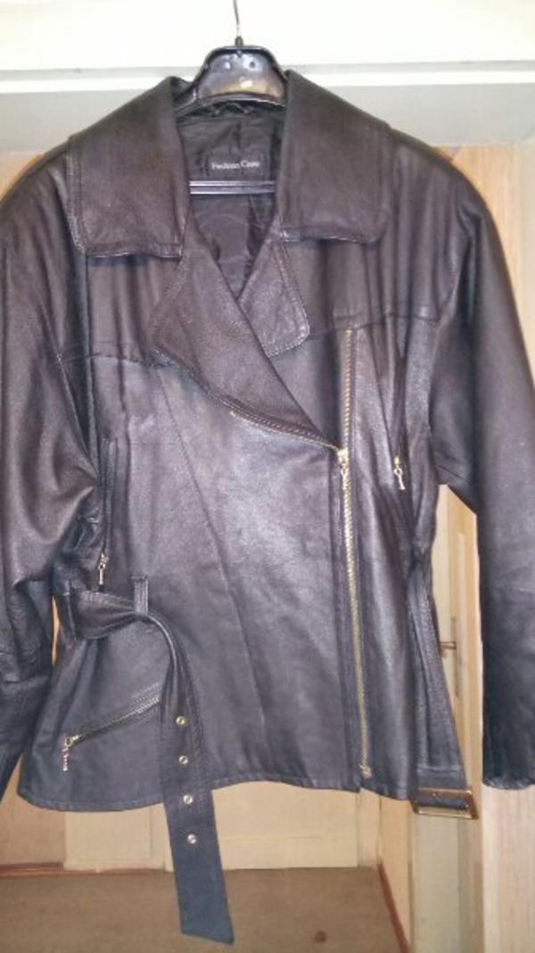 Echt Leder Damenjacke - Keltern - Gepflegte Damen Lederjacke größe 44 - Keltern