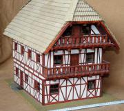 Eigenbau Fachwerkhaus im