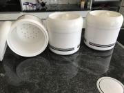 Eisbehälter Kunststoff weiss 4 Liter