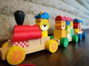 Eisenbahn mit Steck-
