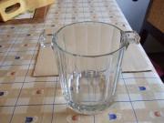 Eiswürfelbehälter Eisbehälter aus Glas Vase