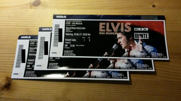 Elvis - Das Musical » Veranstaltungen, gewerblich