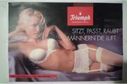 Erotik-Riesenposter - tolle Blondine Schnäppchen