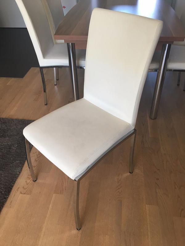 esstisch stuhle weiss gebraucht kaufen nur 2 st bis 70 g nstiger. Black Bedroom Furniture Sets. Home Design Ideas