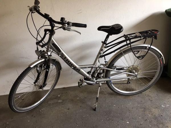 Fahrrad vollgefedert Alu » Damen-Fahrräder